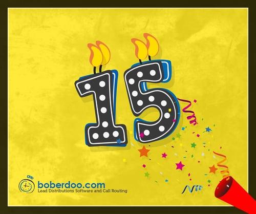 boberdoo's 15th anniversary