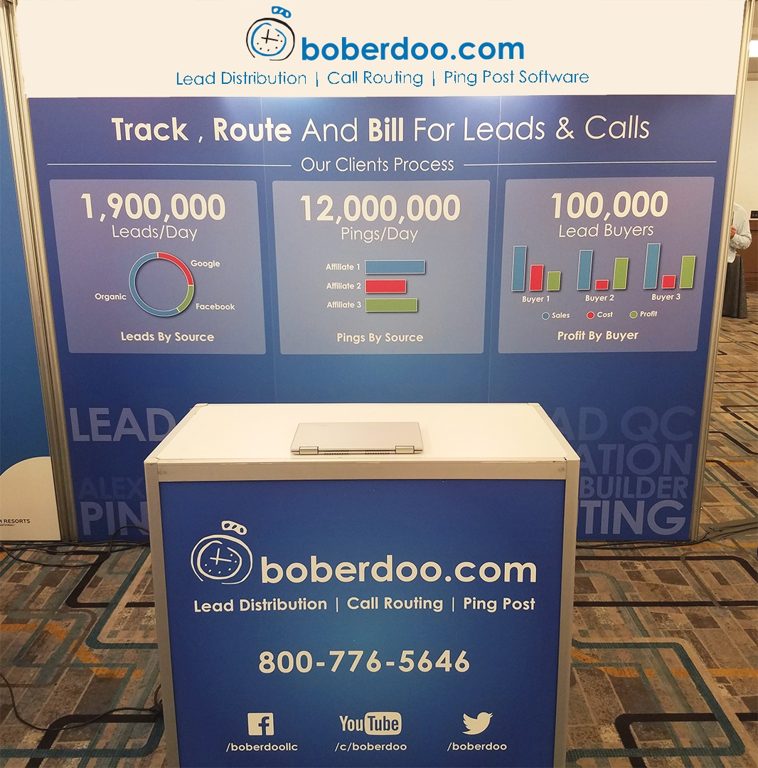 leadscon ny boberdoo booth