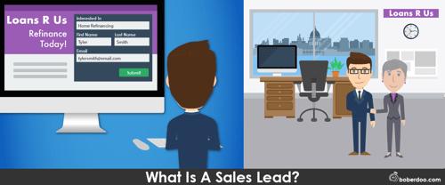 what is a sales lead? boberdoo.com