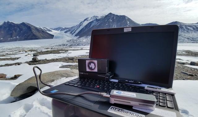 在南极点的Nanopore MinION测序