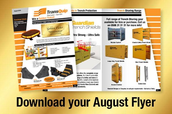 August Good Gear Flyer