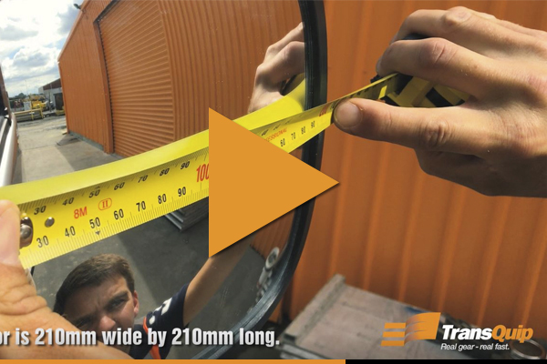 Commercial Vehicle Mirrors & How To Measure For The Right One