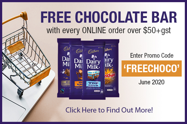 FREE Block of Chocolate!