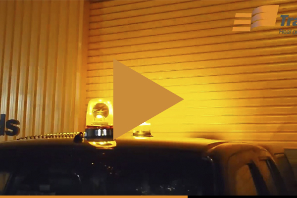 Halogen vs LED Beacon Flashing Lights Video