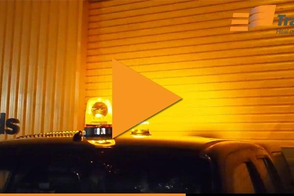 Halogen vs LED Beacon Flashing Lights Video