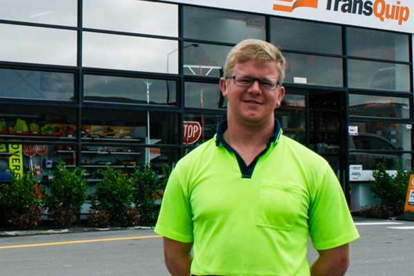 Introducing Harley Bruce, Warehouse Manager