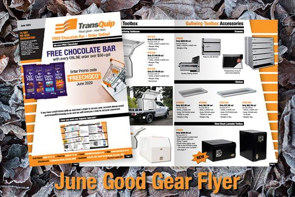 June 2020 Good Gear Flyer