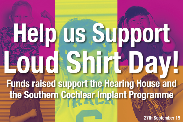 Help us Support Loud Shirt Day