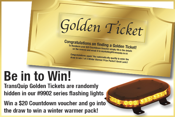 Be in to Win a Golden Ticket!