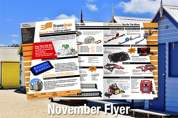 November & December Good Gear!