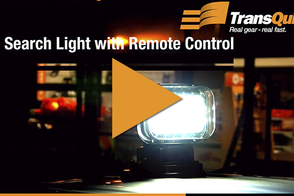 Video - Search Light with Remote Control