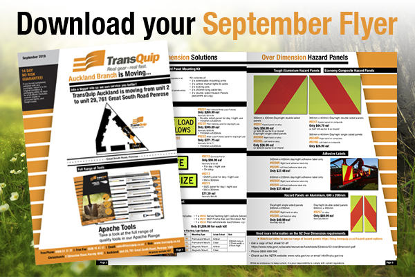 September! See this months flyer...