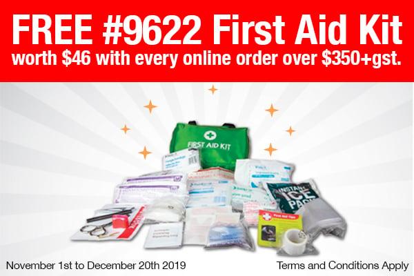 FREE First Aid Kits