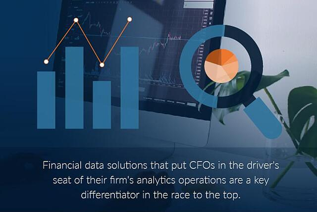 Organizations need financial data solutions that put CFOs in the driver