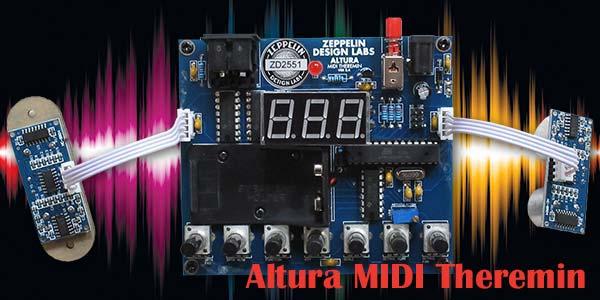 Altura MIDI Theremin