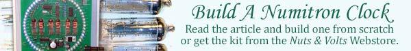 Build A Numitron Clock