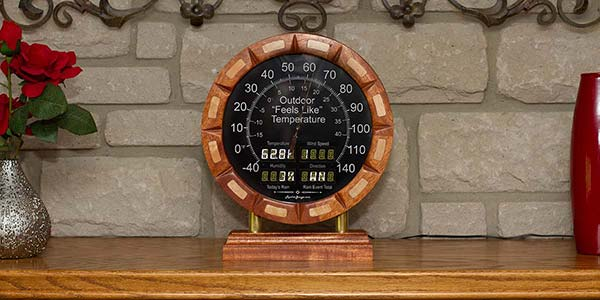 Build A Custom Weather Gauge