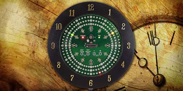 Build An Analog Style LED Clock - Part 1
