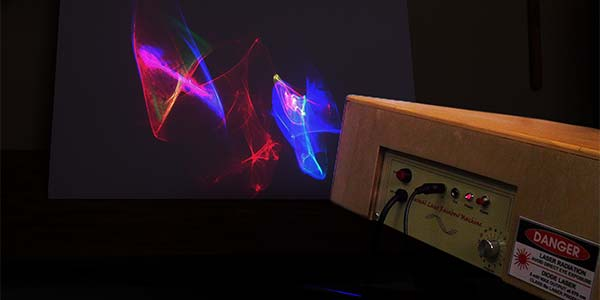 Build A Musical Laser Rainbow Machine