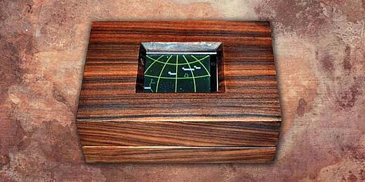 Steampunk Planetarium Clock