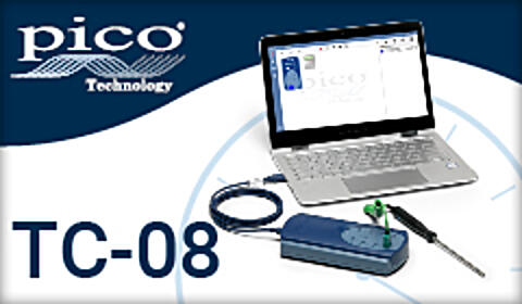 Pico Technology - 8 Channel Thermocouple Data Logger