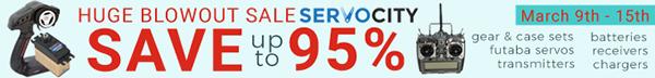 SERVOCITYs Huge Blowout Sale - Save up to 95%!