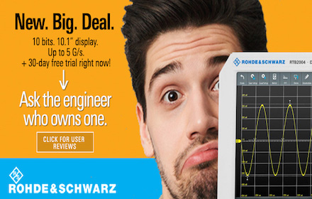 Rohde & Schwarz - New. Big. Deal. - Ask the engineer who owns one