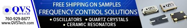 QVS Tech - Frequency Control Solutions - Oscillators, Quartz Crystals, Ceramic Resonators