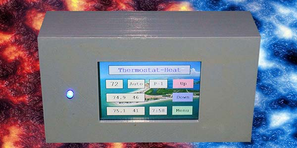 Building a Programmable Thermostat with a Nextion LCD Display