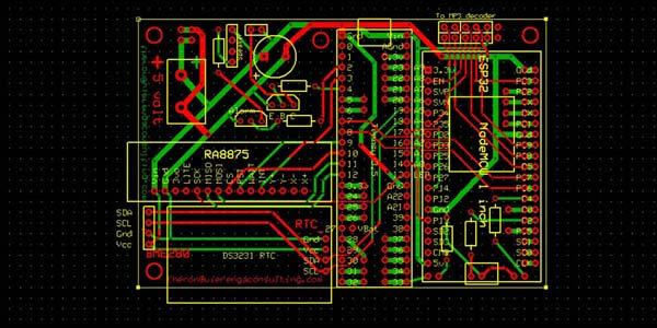 ESP32 / Teensy 3.5 Super Clock