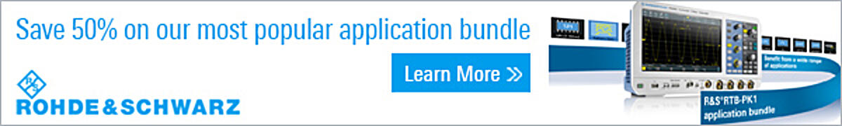 Rohde & Schwartz - Save 50% on our most popular application bundle