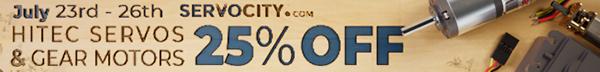 Servo City - Hitec Servos And Gear Motors 25% Off