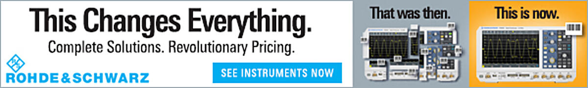 Rohde & Schwarz - This Changes Everything - Complete Solutions. Revolutionary Pricing.
