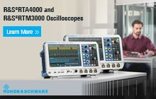 Meet the Newest Rohde & Schwarz Oscilloscopes