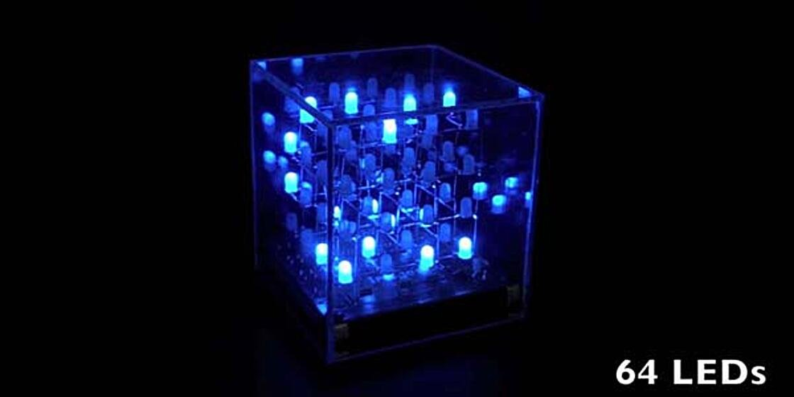 Build the 3D LED Matrix Cube