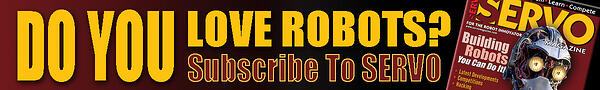 Do You Love Robots? - Subscribe To SERVO