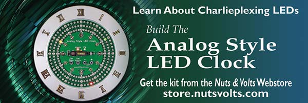 Analog Style LED Clock - Learn Charlieplexing