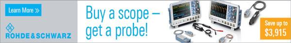 Rohde & Schwartz - Buy a scope - get a probe!
