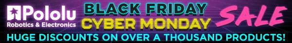 Pololu Black Friday Sale