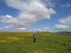 Coyote Ridge OSP - Wildflower Hikers - Cait Hutnik - Apr-9-2005 - 30