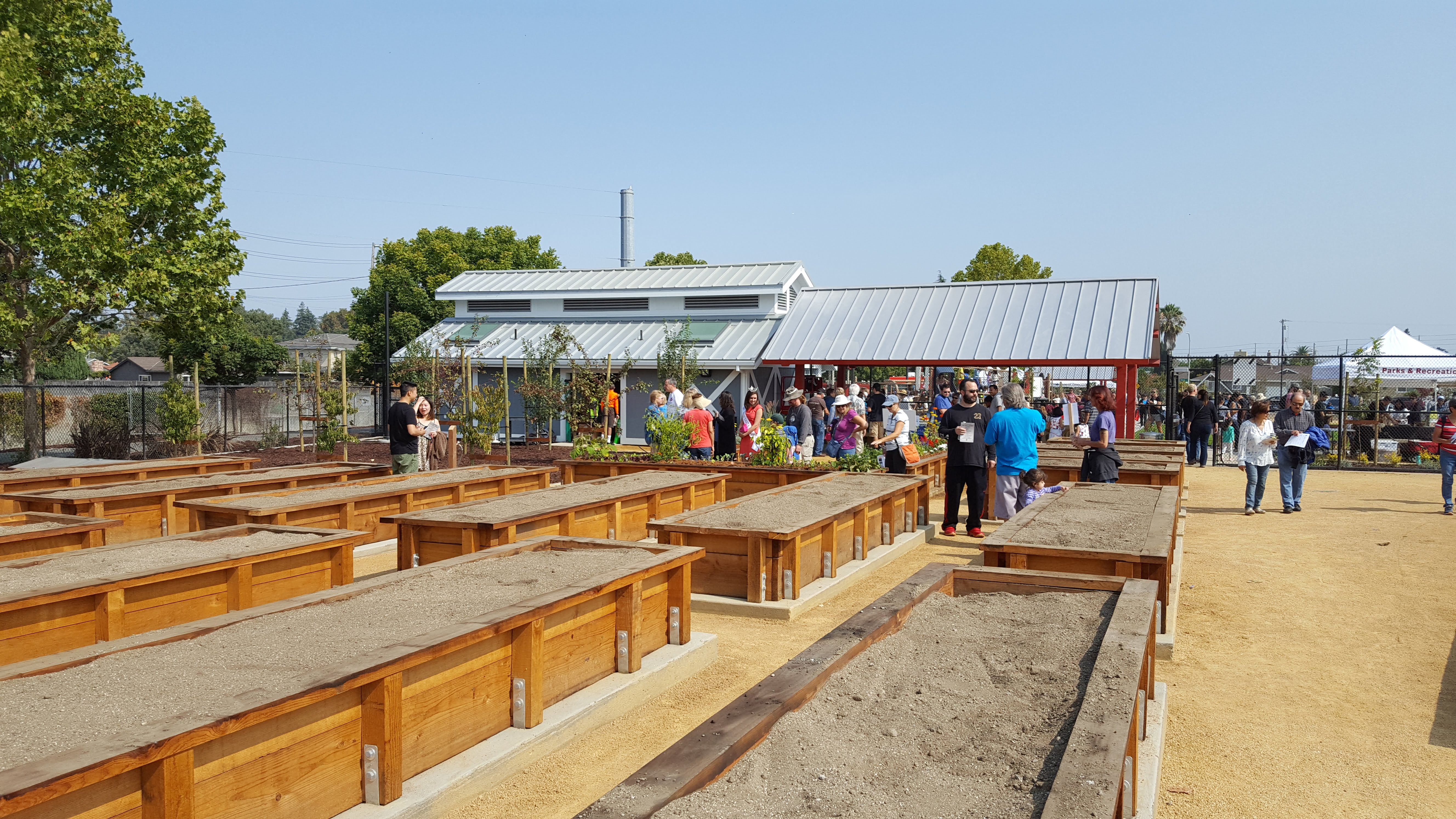 santa clara community garden