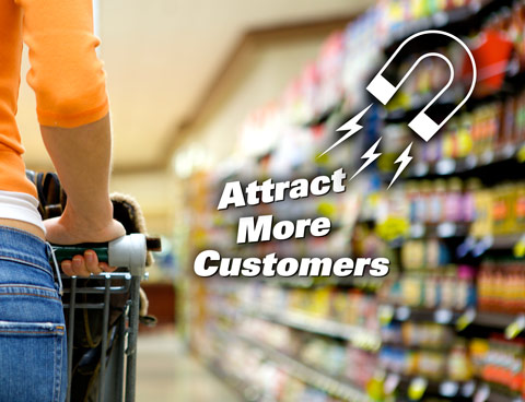 ways to attract customers This is a great opportunity to attract more customers to your restaurant send out an email to your customers on their birthday with a free offer something along the lines of a free appetizer, dessert or even their entire meal.