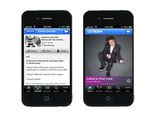 Ustream-App