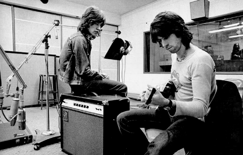 The Glimmer Twins writing