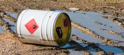 hazardous waste spill