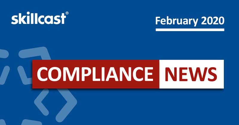 Compliance News - February 2020