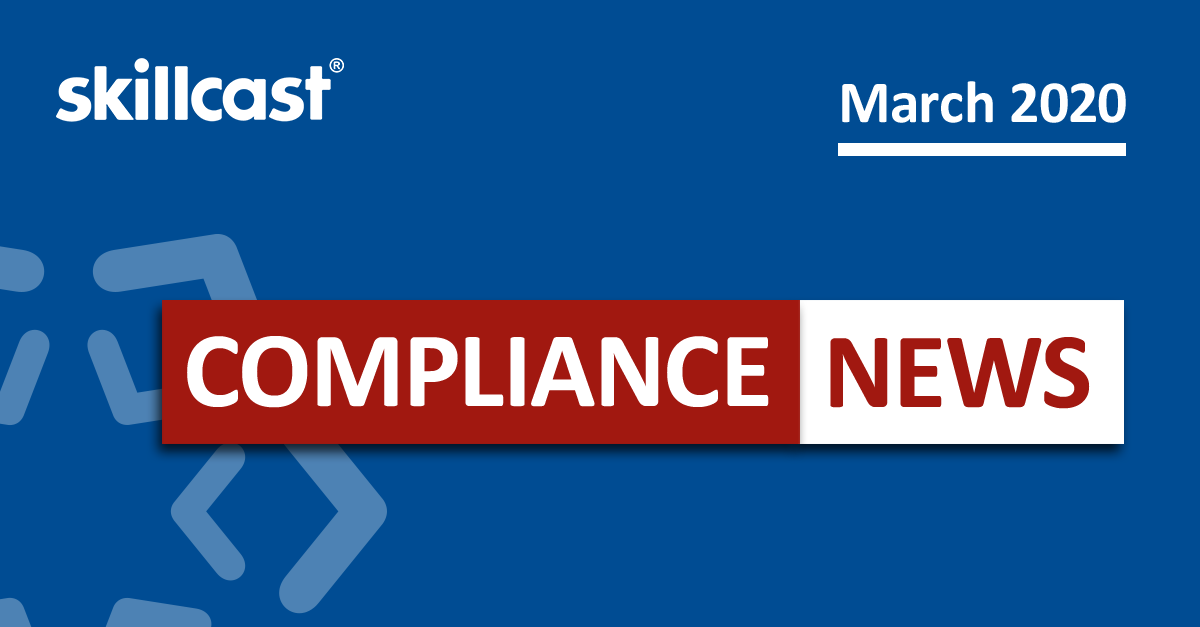 Compliance News - March 2020