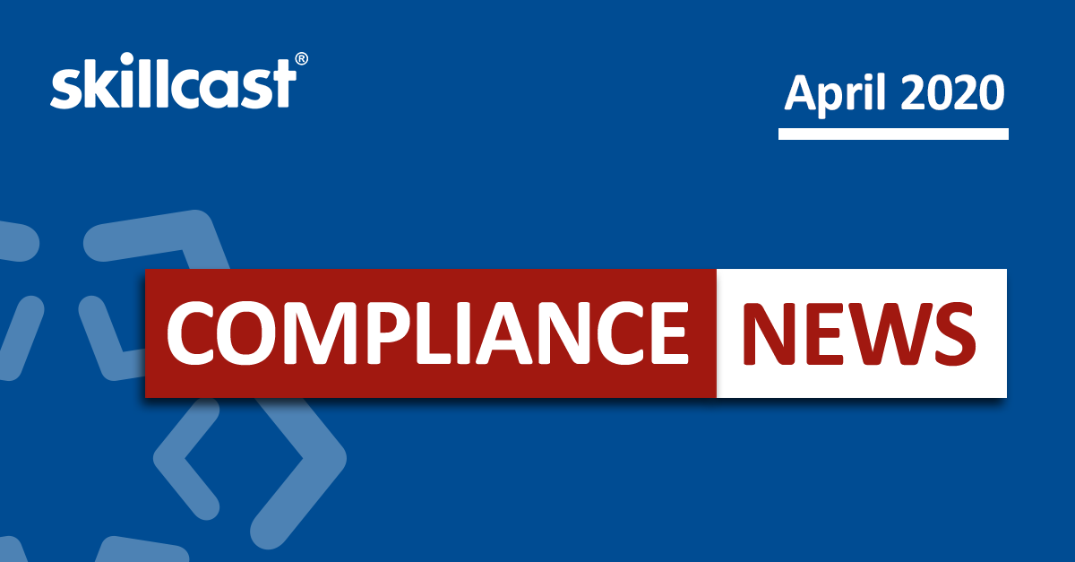 Compliance News - April 2020