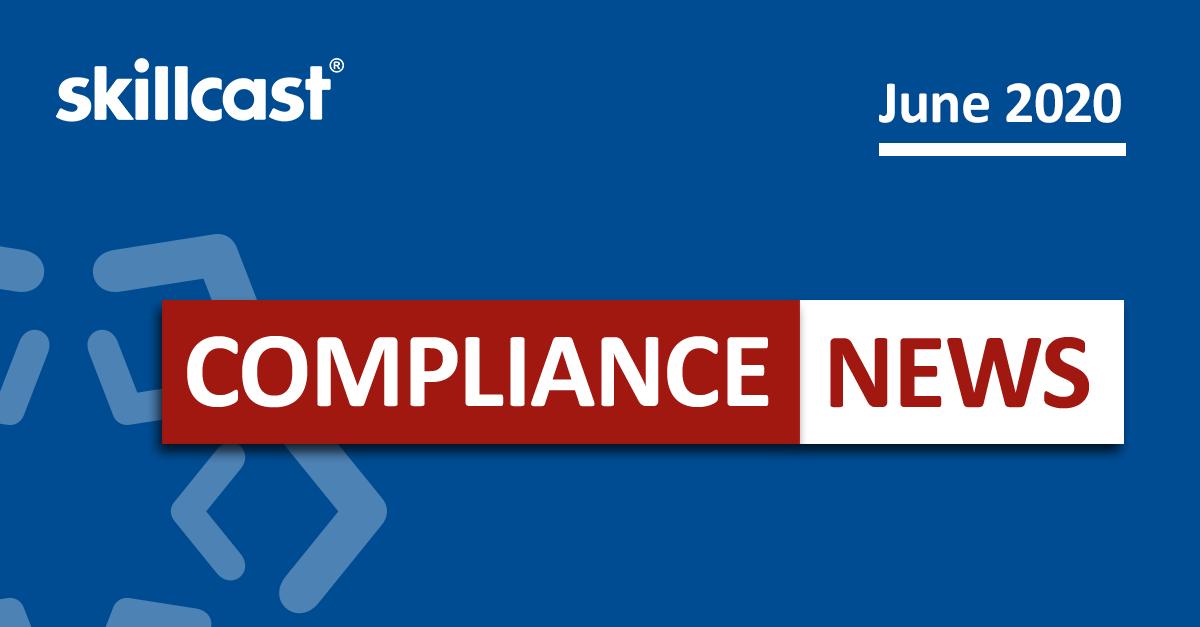 Compliance News - June 2020