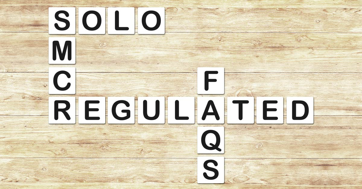 17 FAQs Answered About SMCR for Solo-Regulated Firms